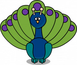 Free Free Peacock Clipart, Download Free Clip Art, Free Clip ...