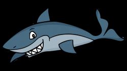 Cartoon Shark Free Clipart