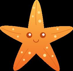 starfish Cartoon Clip Art   Orange Starfish Clip Art   Pre School ...