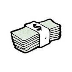 Cash Clip Art - Royalty Free - GoGraph