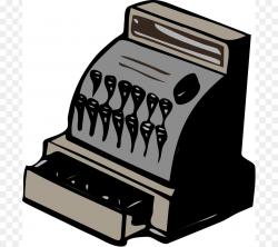 Cash register Money Clip art - Free Treasure Chest Clipart png ...