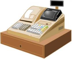 Cash Register clip art
