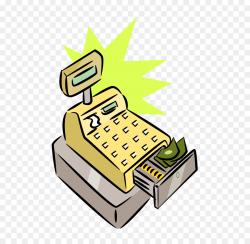 Cash register Money Clip art - Cash Images png download - 620*877 ...