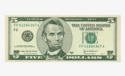 One Us Dollar Bills, A Money, Dollar, Banknote PNG Image and Clipart ...