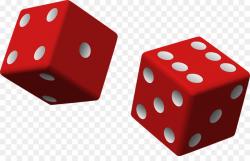 Dice Gambling Casino Clip art - Red dice png download - 960*599 ...