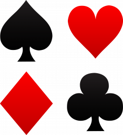 Playing card symbols. | All Things Groom | Pinterest | Playing cards ...
