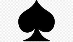 Playing card Poker Suit Spades Gambling - ace card png download ...