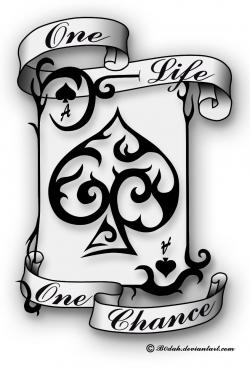 Ace Of Spades tattoo design by B0dah.deviantart.com on @DeviantArt ...