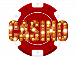 Red Casino Chip Decoration PNG Clip Art - Best WEB Clipart