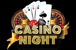 Casino Night Logo transparent PNG - StickPNG
