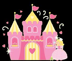 Princess Castle Clipart | Princess Window Birthday Invitations ALL ...