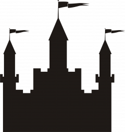 Castle Silhouette at GetDrawings.com | Free for personal use Castle ...