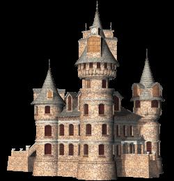 Castle 3D Clipart transparent PNG - StickPNG