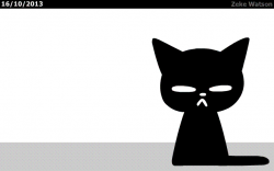 Black Cat Animation GIF - Find & Share on GIPHY