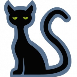 Cat Icon | Halloween Iconset | IconCreme
