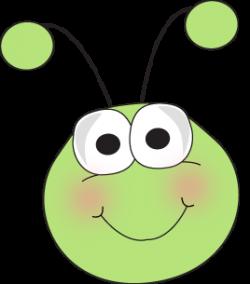 Bug Face Cartoon | Grasshopper Face Clip Art Image - cute ...