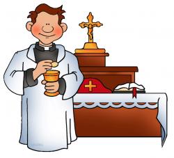Catholic Priest Clipart
