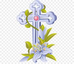 Easter Catholic Church Cross Paschal candle Clip art - Christian ...