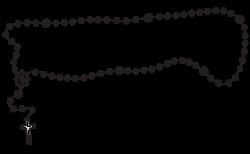 Catholic Rosary Clipart