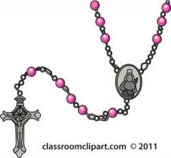 Catholic Rosary Bead Clipart