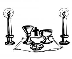 Catholic Altar Clipart