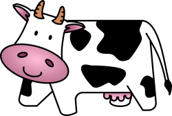 28+ Collection of Simple Cow Clipart | High quality, free cliparts ...