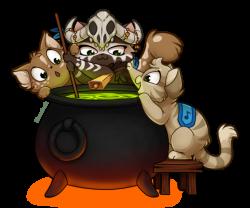 Alchemy Kitties by Kamirah on DeviantArt
