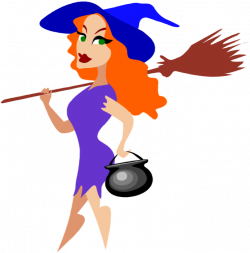 Free Clipart of Halloween Witches