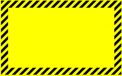 Blank Caution Sign Clip Art Free Download At Clipartkid Com Vector ...