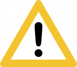 Warning Sign Clip Art at Clker.com - vector clip art online, royalty ...