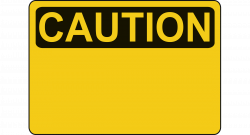 Clipart - Caution - Blank