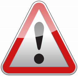 Triangle Warning Sign PNG Clipart - Best WEB Clipart