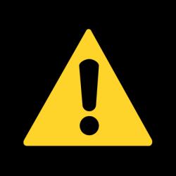 High Voltage Warning Sign transparent PNG - StickPNG