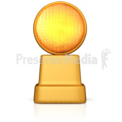 Caution Road Sign Light - Presentation Clipart - Great Clipart for ...