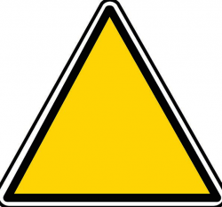 Triangle, Threesome, Symbol, Blank, Outright, Sign, Caution ...