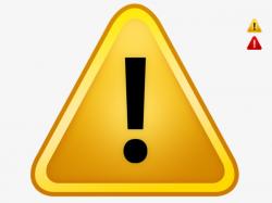 Yellow Warning Sign Stock Image, Warning, Picture Warnings, Warning ...