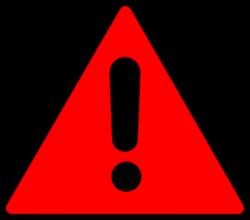 Warning Triangle Clip Art at Clker.com - vector clip art online ...