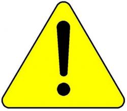 Caution Warning Triangle