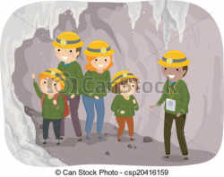 Spelunking clipart - Clipground