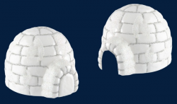 Snow House, Snow Cave, House PNG Image and Clipart for Free Download