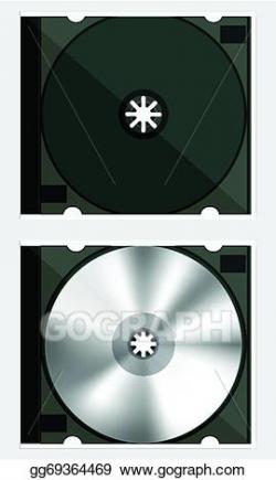 Vector Clipart - Dvd box. Vector Illustration gg69364469 - GoGraph