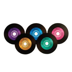 Amazon.com: Verbatim CD-R 80min 52X with Digital Vinyl Surface ...