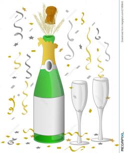 Champagne Celebration/eps Illustration 2188943 - Megapixl