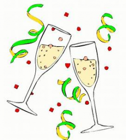 Glass Clipart Celebration Pencil And In Color Glass Clipart Celebration