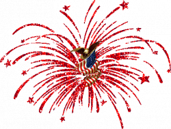 American Independance Day Fireworks and July Fourth Animations