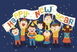 New Year Celebration Clipart | New Year