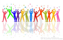 People Celebrating Clipart - ClipartUse