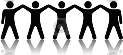 Group of People Celebrate Teamwork stock vector