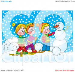 Number Two Winter Clipart