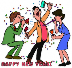 New year celebration clip art - New year celebration clipart photo ...